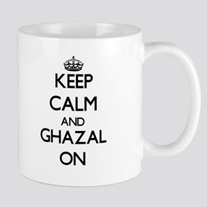 Keep Calm and Ghazal ON Mugs