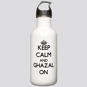 Keep Calm and Ghazal O Stainless Water Bottle 1.0L