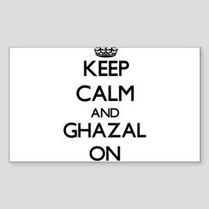 Keep Calm and Ghazal ON Sticker