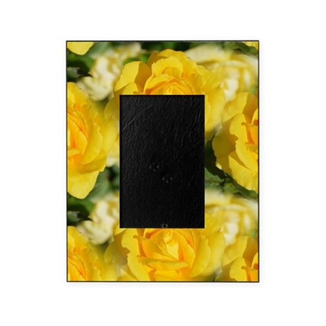 Yellow Roses Picture Frame