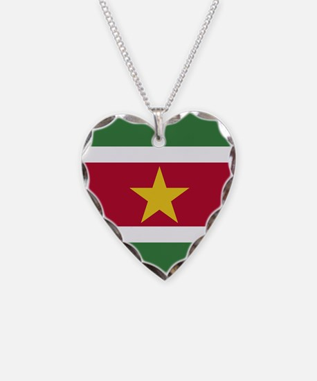 Flag of Suriname Necklace