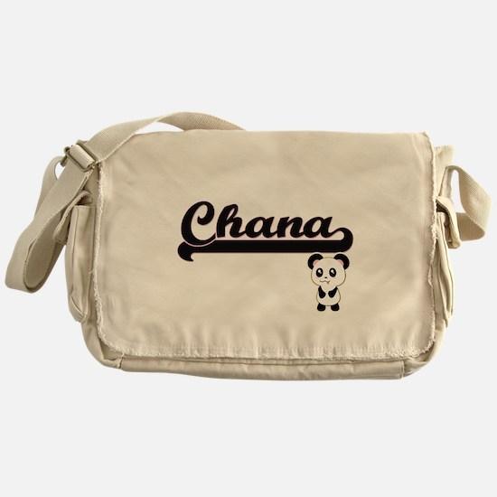 Chana Classic Retro Name Design with Messenger Bag