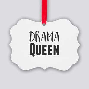 Drama Queen Picture Ornament