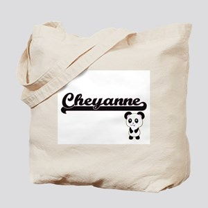 Cheyanne Classic Retro Name Design with P Tote Bag