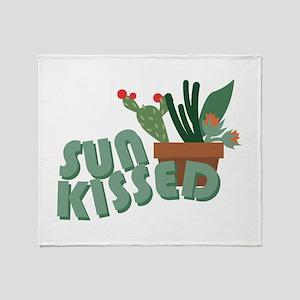 Sun Kissed Throw Blanket