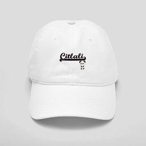 Citlali Classic Retro Name Design with Panda Cap