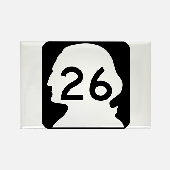 State Route 26, Washington Rectangle Magnet