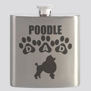 Poodle Dad Flask