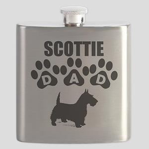 Scottie Dad Flask