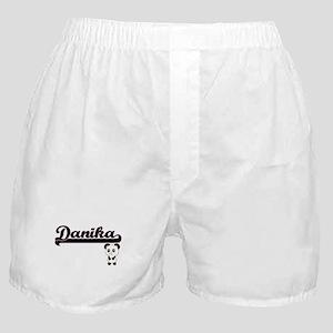 Danika Classic Retro Name Design with Boxer Shorts