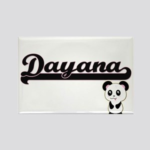 Dayana Classic Retro Name Design with Pand Magnets
