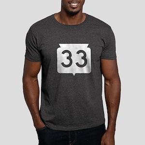 Highway 33, Wisconsin Dark T-Shirt
