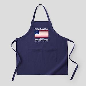Betsy Ross Flag Apron (dark)