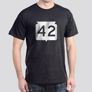 Highway 42, Wisconsin Dark T-Shirt
