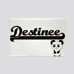 Destinee Classic Retro Name Design with Pa Magnets