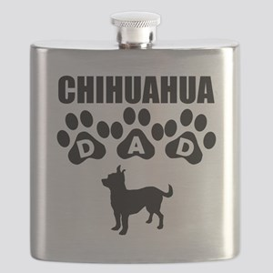 Chihuahua Dad Flask