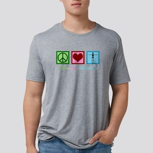 Peace Love Orthopedics Mens Tri-blend T-Shirt