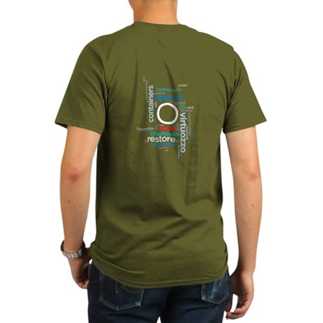 Openvz Organic Men's T-Shirt (dark)