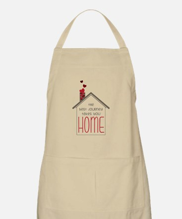 The Best Journey Take You Apron