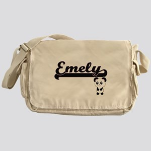 Emely Classic Retro Name Design with Messenger Bag