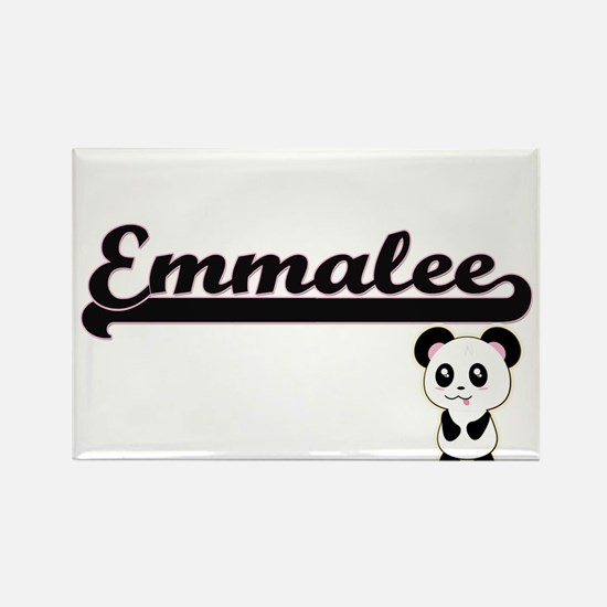 Emmalee Classic Retro Name Design with Pan Magnets