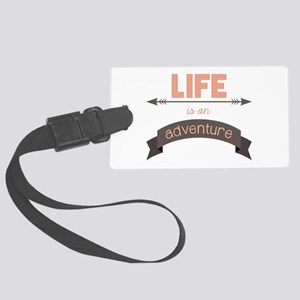 Life Is An Adventure Luggage Tag