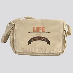 Life Is An Adventure Messenger Bag