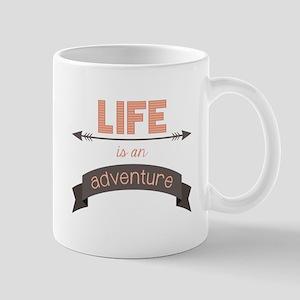Life Is An Adventure Mugs