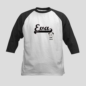 Eva Classic Retro Name Design with Baseball Jersey
