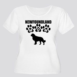 Newfoundland Mom Plus Size T-Shirt