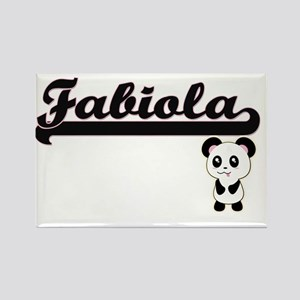 Fabiola Classic Retro Name Design with Pan Magnets