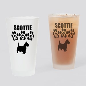 Scottie Mom Drinking Glass