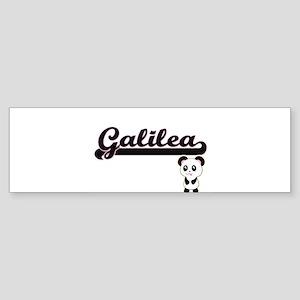 Galilea Classic Retro Name Design w Bumper Sticker