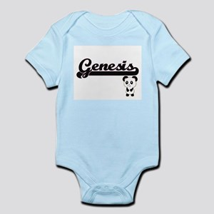 Genesis Classic Retro Name Design with P Body Suit