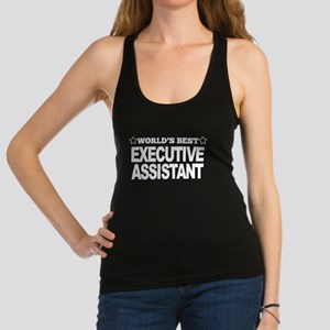 Worlds Best Executive Assistant Racerback Tank Top