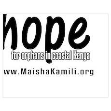 hope for orphans (plain) Poster