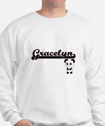 Gracelyn Classic Retro Name Design with Sweater