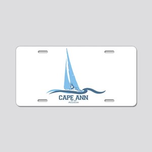 Cape Ann Aluminum License Plate