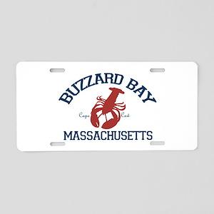 Buzzard Aluminum License Plate