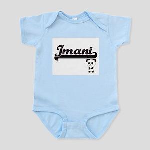 Imani Classic Retro Name Design with Pan Body Suit