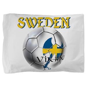 Sweden Football Pillow Sham
