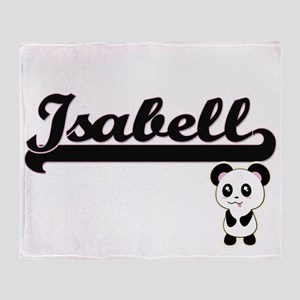 Isabell Classic Retro Name Design wi Throw Blanket