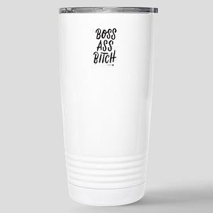 Boss Ass Bitch Stainless Steel Travel Mug