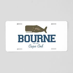 Bourne Aluminum License Plate
