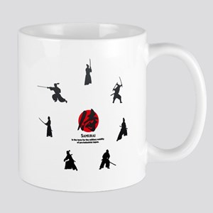 samurai: the military nobility of Japan Mugs