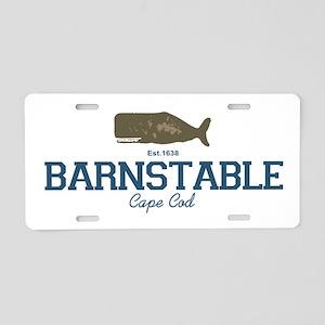 Barnstable Aluminum License Plate