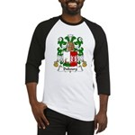 Dubourg Family Crest Baseball Jersey