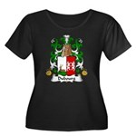 Dubourg Family Crest Women's Plus Size Scoop Neck