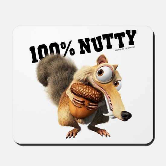 Ice Age Scrat 100% Nutty Mousepad