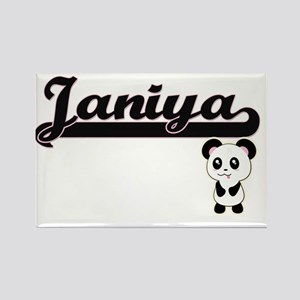 Janiya Classic Retro Name Design with Pand Magnets